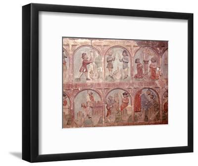 Ten Commandments, Frankfurt West Germany, c20th century-Unknown-Framed Giclee Print