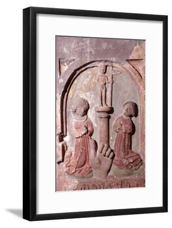 'Do not worship any other but God', The Ten Commandments, c20th century-Unknown-Framed Giclee Print