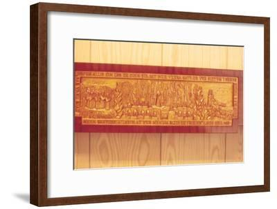 Meeting of the Thing (Iceland's Democratic Parliament) in AD1000-Unknown-Framed Giclee Print