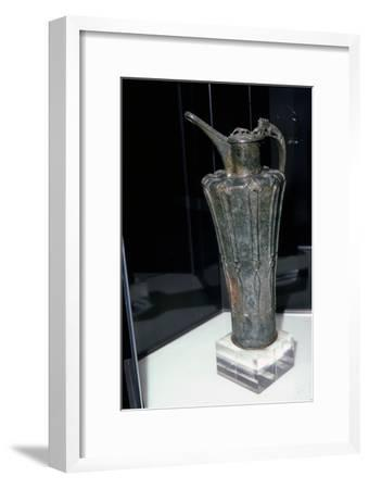 Bronze Celtic Flagon from Durrnberg, 5th Century BC-Unknown-Framed Giclee Print