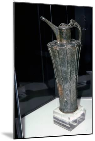 Bronze Celtic Flagon from Durrnberg, 5th Century BC-Unknown-Mounted Giclee Print