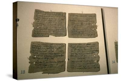 Vindolanda Letters, AD 92-120-Unknown-Stretched Canvas Print