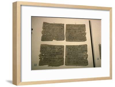 Vindolanda Letters, AD 92-120-Unknown-Framed Giclee Print