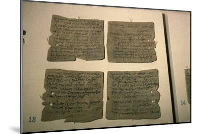 Vindolanda Letters, AD 92-120-Unknown-Mounted Giclee Print