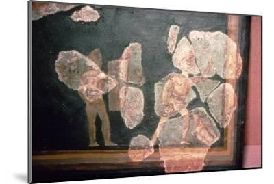 Roman wallpainting from a House at Colchester, England, c2nd-3rd century-Unknown-Mounted Giclee Print
