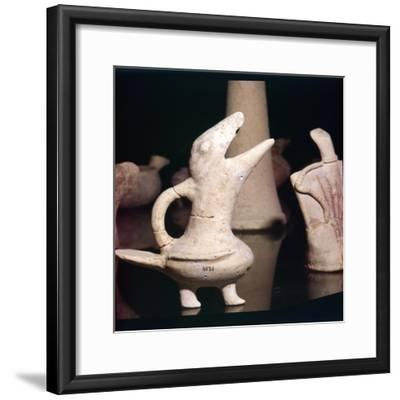 Terracotta Bird, Pre-Palatial Crete, c2,600-c1900 BC-Unknown-Framed Giclee Print