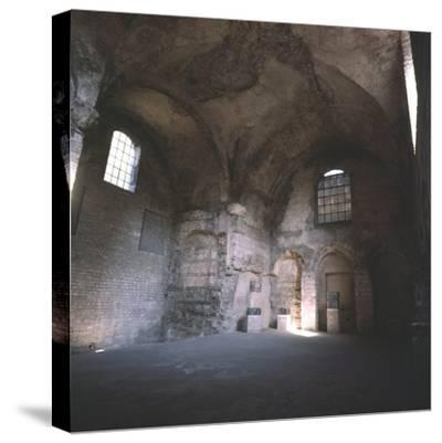 Interior of the Roman Baths, incorporated in the Cluny Monastery, Paris, c20th century-Unknown-Stretched Canvas Print