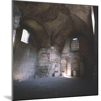 Interior of the Roman Baths, incorporated in the Cluny Monastery, Paris, c20th century-Unknown-Mounted Photographic Print