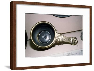 Roman Bronze Saucepan from Prickwillow, Isle of Ely, Cambridgeshire, 2nd century-Unknown-Framed Giclee Print
