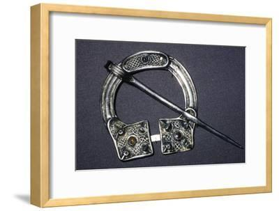 Celtic Penannular Brooch from Ballynaglough, 8th century-Unknown-Framed Giclee Print