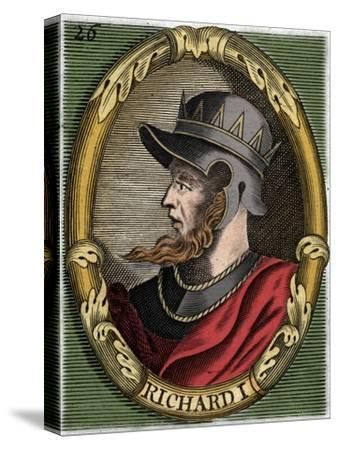 Richard I, King of England-Unknown-Stretched Canvas Print