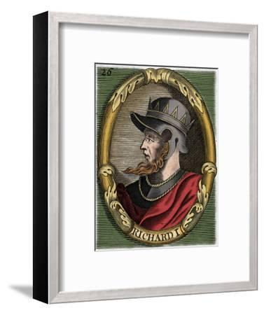 Richard I, King of England-Unknown-Framed Giclee Print