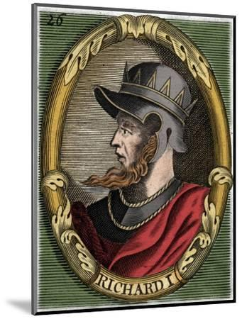 Richard I, King of England-Unknown-Mounted Giclee Print