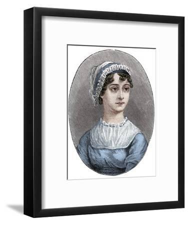 Jane Austen (1775-1817), English novelist-Unknown-Framed Giclee Print