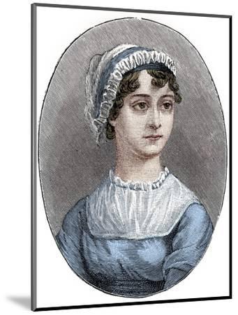 Jane Austen (1775-1817), English novelist-Unknown-Mounted Giclee Print