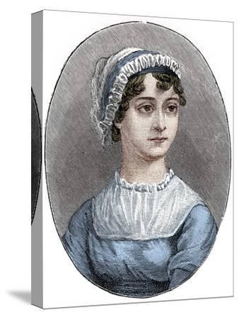 Jane Austen (1775-1817), English novelist-Unknown-Stretched Canvas Print