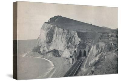 'Dover - The Tunnel in Shakespeare's Cliff', 1895-Unknown-Stretched Canvas Print