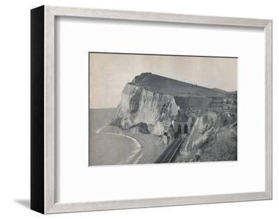 'Dover - The Tunnel in Shakespeare's Cliff', 1895-Unknown-Framed Photographic Print