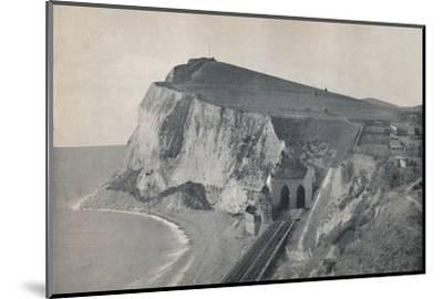 'Dover - The Tunnel in Shakespeare's Cliff', 1895-Unknown-Mounted Photographic Print
