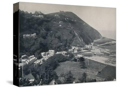'Lynmouth - The Hill, Showing Lynton Above', 1895-Unknown-Stretched Canvas Print