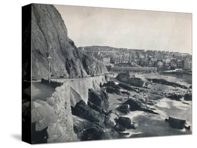 'Ilfracombe - General View, Showing Capstone Parade', 1895-Unknown-Stretched Canvas Print