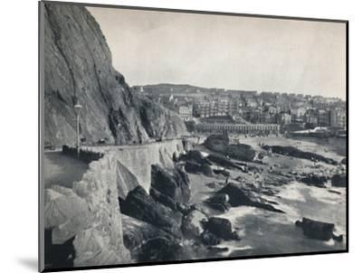 'Ilfracombe - General View, Showing Capstone Parade', 1895-Unknown-Mounted Photographic Print