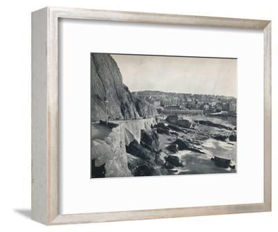 'Ilfracombe - General View, Showing Capstone Parade', 1895-Unknown-Framed Photographic Print