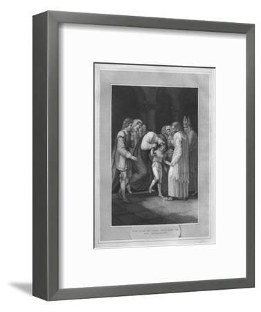 'The Duke of York Delivered To The Archbishops', 1838-Unknown-Framed Giclee Print