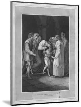 'The Duke of York Delivered To The Archbishops', 1838-Unknown-Mounted Giclee Print