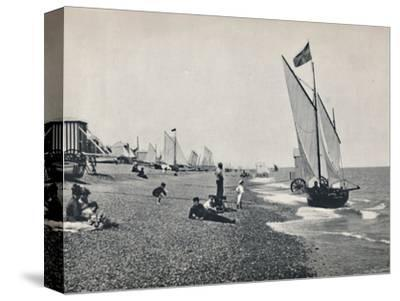 'Aldeburgh - The Beach', 1895-Unknown-Stretched Canvas Print