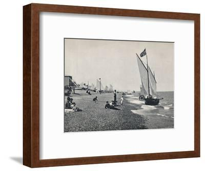 'Aldeburgh - The Beach', 1895-Unknown-Framed Photographic Print