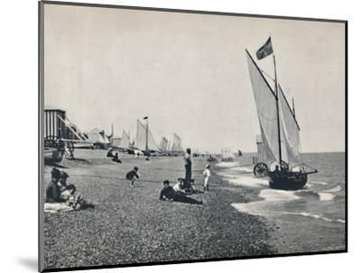 'Aldeburgh - The Beach', 1895-Unknown-Mounted Photographic Print