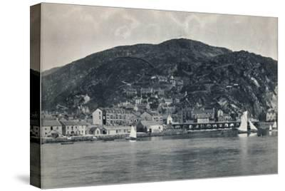 'Barmouth - View from the Mawddach, Showing Heights', 1895-Unknown-Stretched Canvas Print