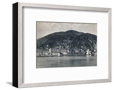 'Barmouth - View from the Mawddach, Showing Heights', 1895-Unknown-Framed Photographic Print