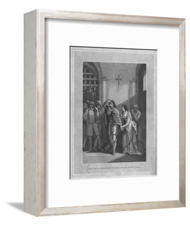 'The Earl of Somerset Summoned for Execution', 1838-Unknown-Framed Giclee Print