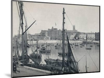 'Margate - The Harbour and the Jetty', 1895-Unknown-Mounted Photographic Print