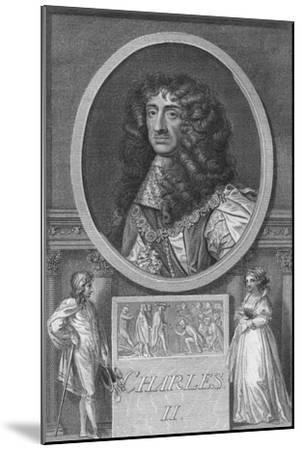 'Charles II', 1788-Unknown-Mounted Giclee Print