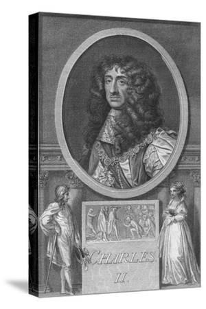'Charles II', 1788-Unknown-Stretched Canvas Print