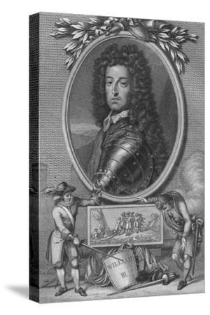 'William III', 1790-Unknown-Stretched Canvas Print