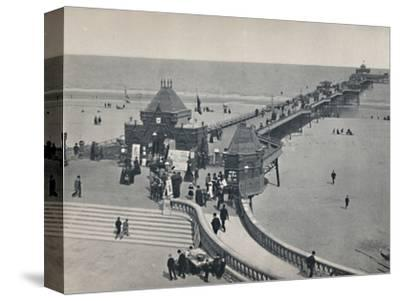 'Skegness - The Pier', 1895-Unknown-Stretched Canvas Print