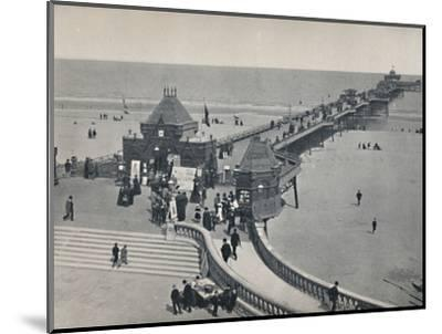 'Skegness - The Pier', 1895-Unknown-Mounted Photographic Print