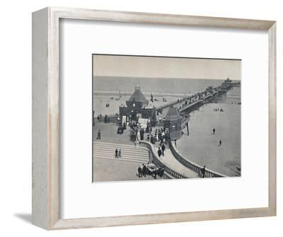 'Skegness - The Pier', 1895-Unknown-Framed Photographic Print