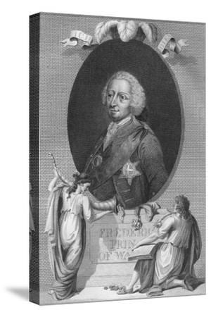 'Frederick, Prince of Wales', 1790-Unknown-Stretched Canvas Print