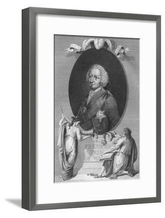 'Frederick, Prince of Wales', 1790-Unknown-Framed Giclee Print