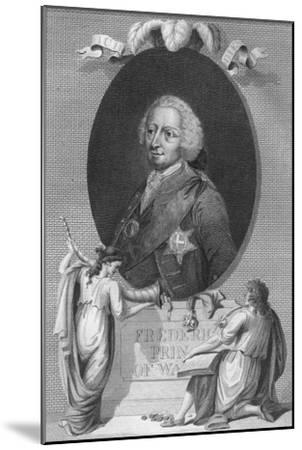 'Frederick, Prince of Wales', 1790-Unknown-Mounted Giclee Print