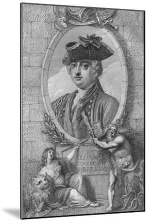'William, Duke of Cumberland', 1790-Unknown-Mounted Giclee Print