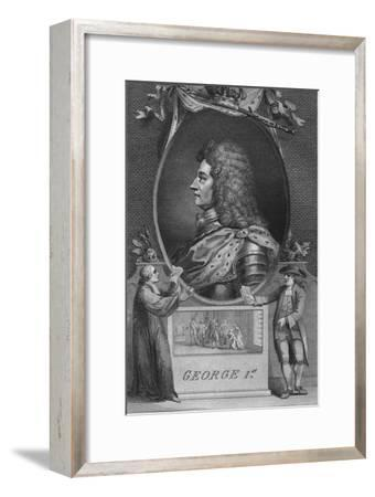 'George 1st', 1790-Unknown-Framed Giclee Print