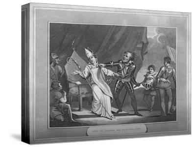 'King William Seizing His Brother Odo', 1838-Unknown-Stretched Canvas Print