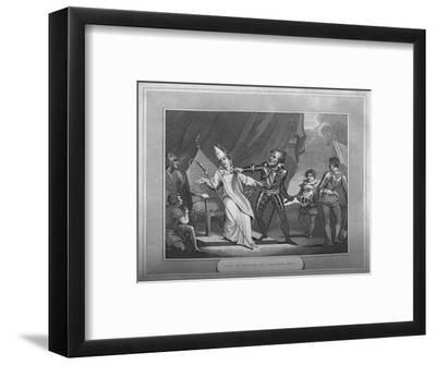 'King William Seizing His Brother Odo', 1838-Unknown-Framed Giclee Print