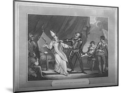 'King William Seizing His Brother Odo', 1838-Unknown-Mounted Giclee Print